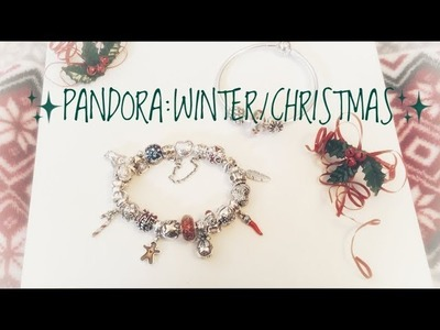 UPDATED W. New Charm!! My Pandora Winter.Christmas Bracelet❤️❄️