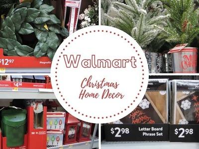 Walmart Christmas Shop With Me 2018 | New Christmas Home Decor| Farmhouse Christmas
