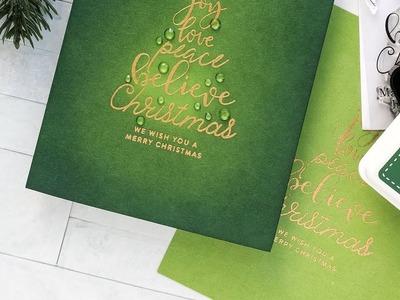 Yippee for Yana: Simplistic Christmas Cards
