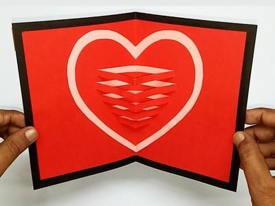 3d Heart Card Making Ideas | Love Card Ideas | Handmade Greeting Cards