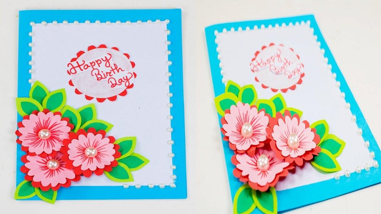 Beautiful Handmade Birthday Card Idea