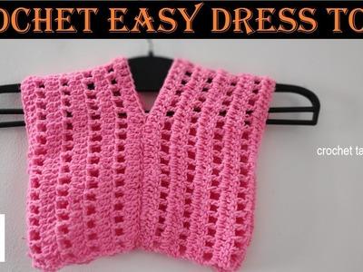 Crochet easy dress top | tamil | crochet tamil |