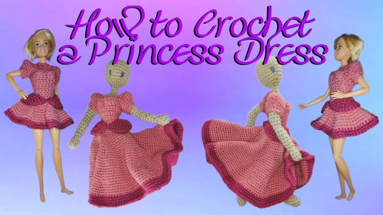 Crochet Princess Dress Tutorial Part 1
