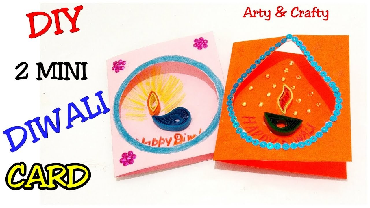 diwali cardsimple diwali card for kidshandmade diwali