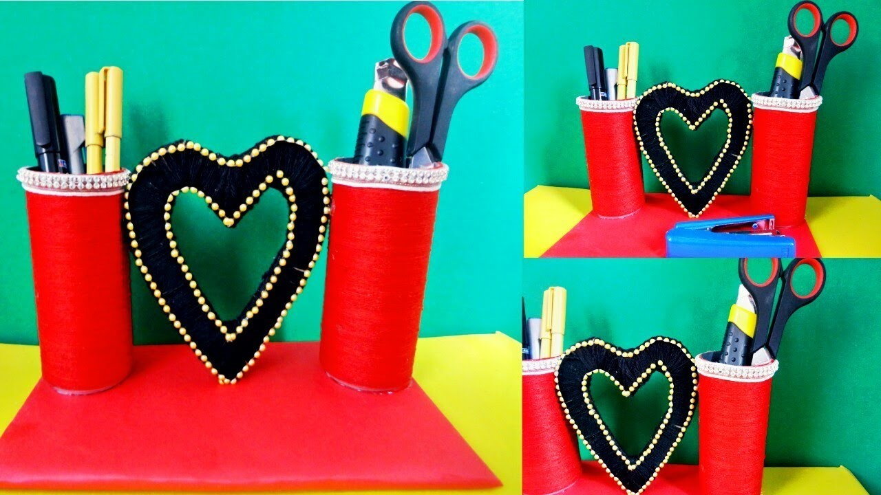 how to make decorative items at home from waste material