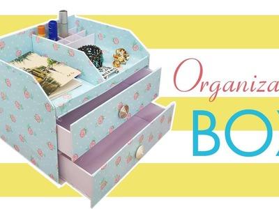 DIY Makeup Storage and Organization - DIY BIG MAKEUP ORGANIZER