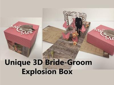 DIY Unique Wedding   Anniversary Explosion Box   Handmade