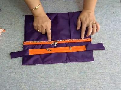 DIY Zipper Bottle Bag for kids and all