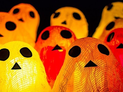 GHOOST ???? 6 Easy and Cool DIY HALLOWEEN Decor Ideas