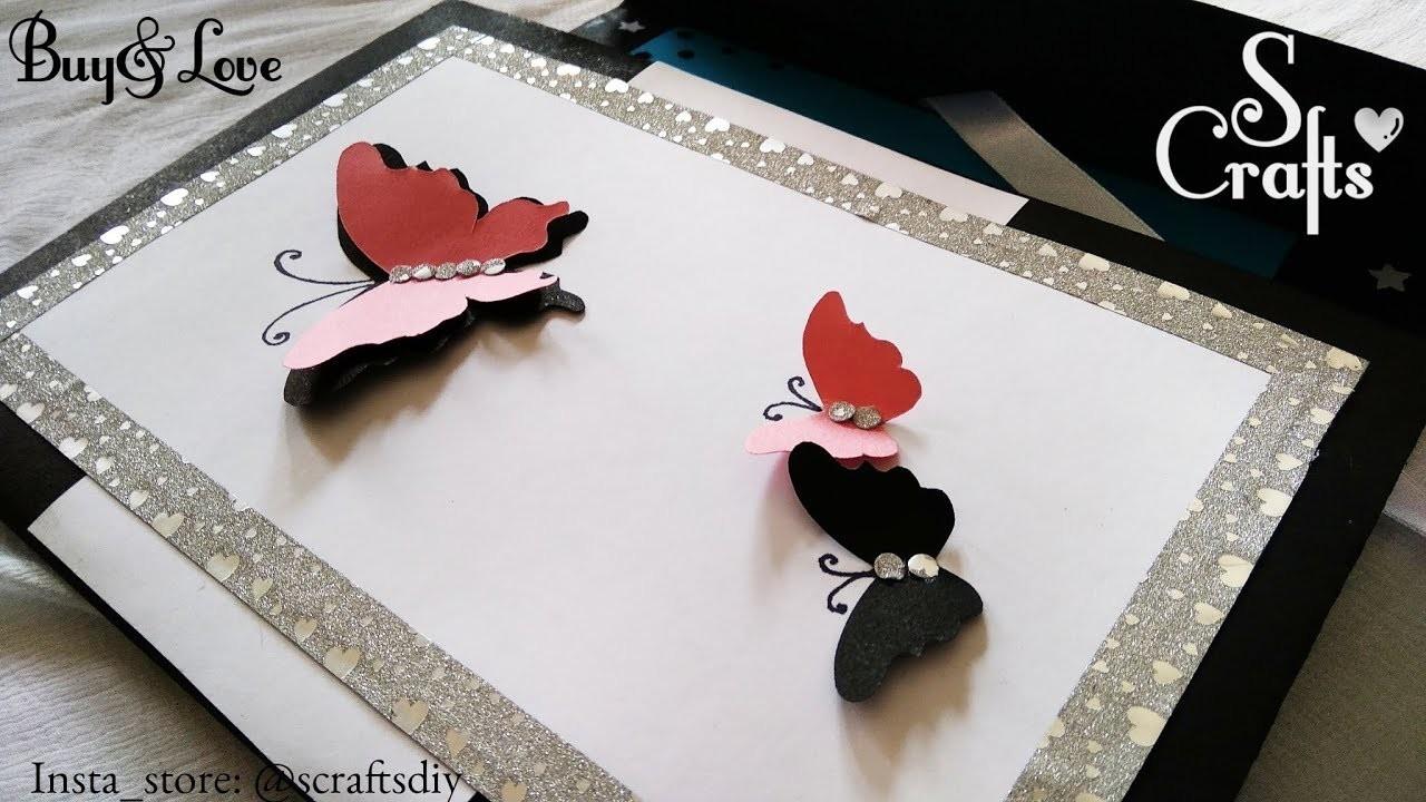 Gift Card Butterfly Handmade Gift For Friends Handmade Gift