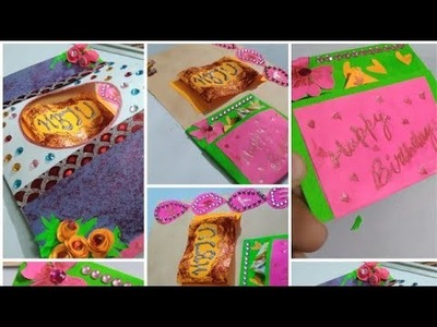 Handmade card for ur friend b'day || Adeeba Abidi