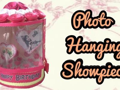 Handmade photo hanging showpiece.Birthday gift ideas