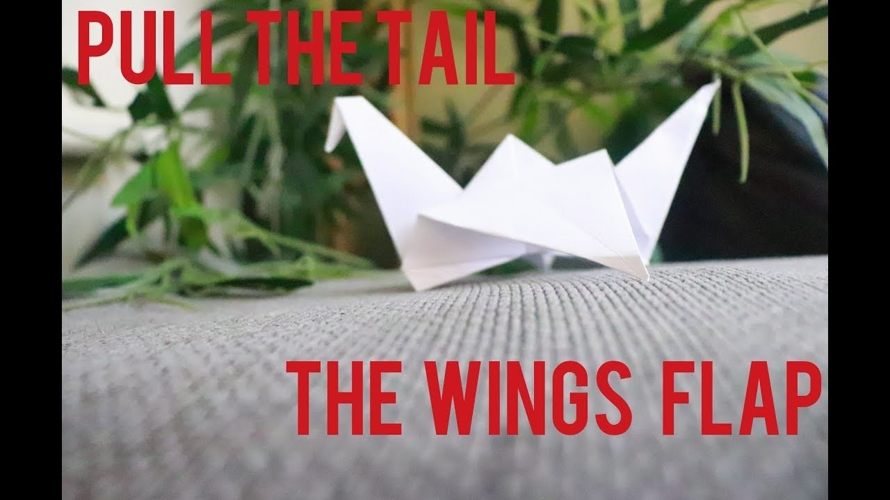 How To Make A Flapping Bird Origami How To Make A Paper Bird That ... | 720x1280