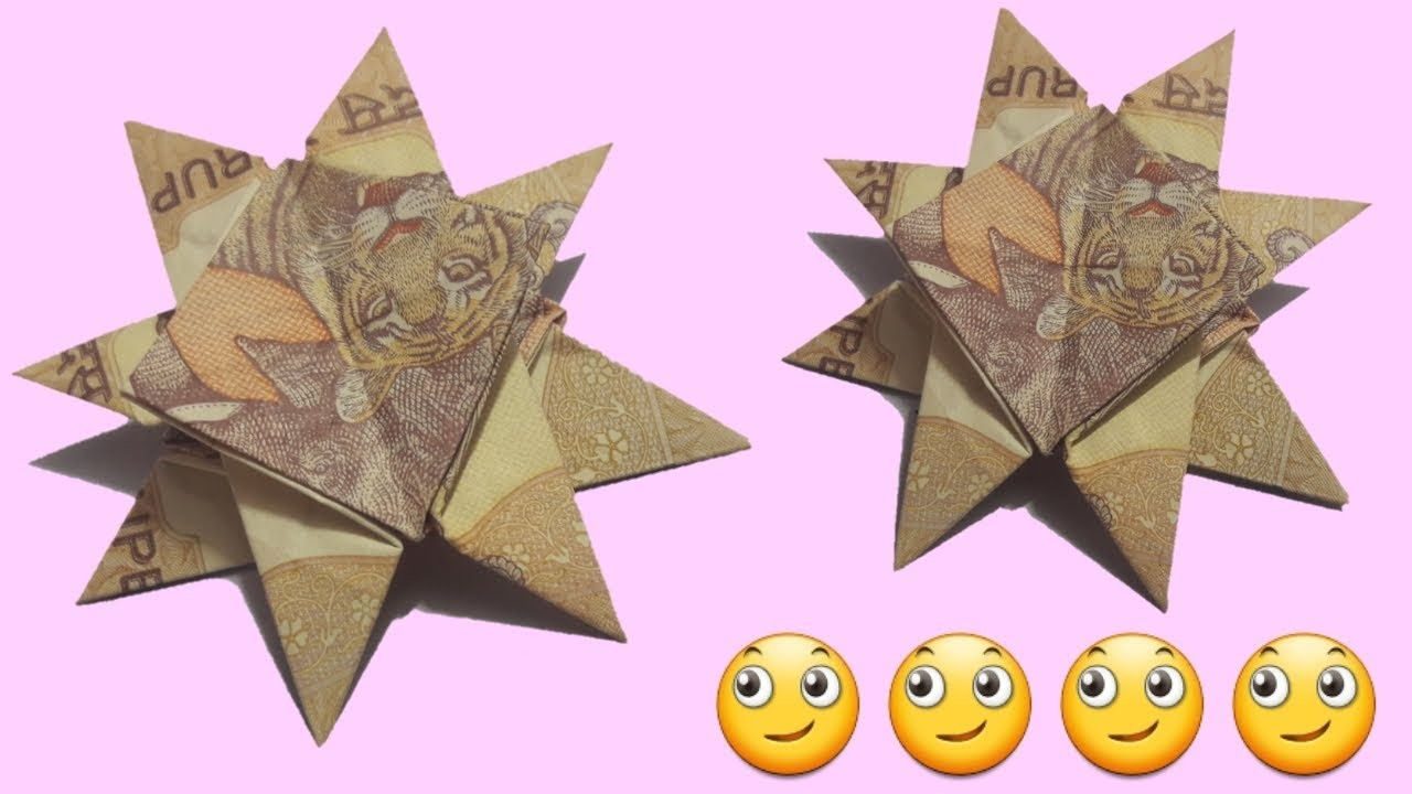 How to make star from Note. note se star banana. origami star