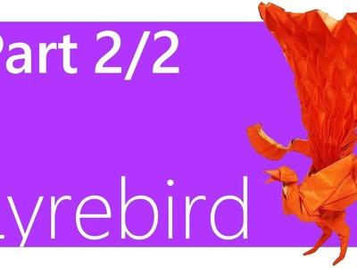 Lyrebird Origami Tutorial ( Satoshi Kamiya ) | Part 2.2
