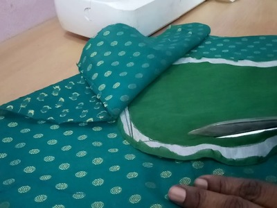 Matka (POT) neck design cutting and sewing full video
