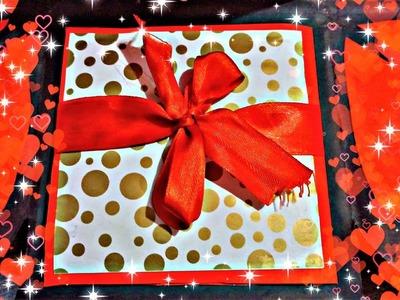 Maze photo card || Handmade gift ideas, Scrapbook making|| Riya Lalwani