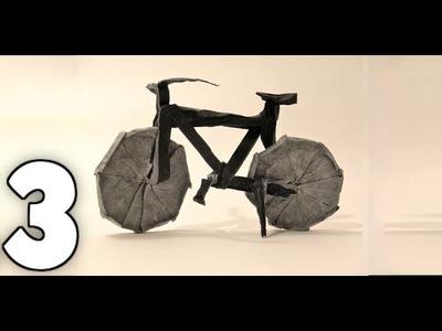 Origami Bicycle Tutorial [Jason Ku] Part 3# - Final Collapsing