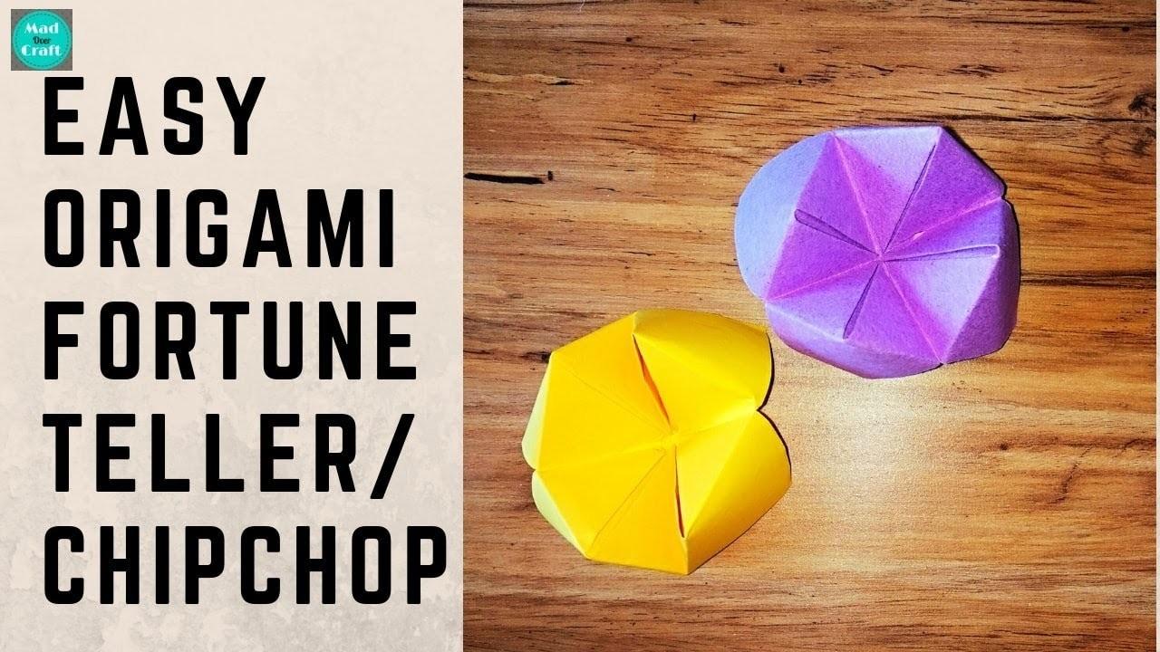 easy origami fortune teller - YouTube   720x1280