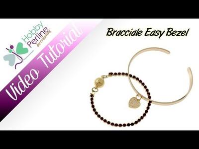 Bracciale Easy Bezel | TUTORIAL - HobbyPerline.com
