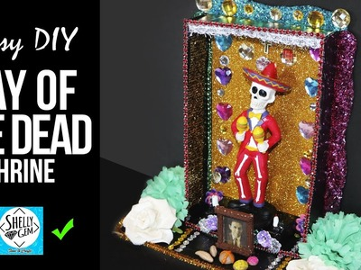 Day of the dead shrine ???? easy DIY #dayofthedead #shrine #diadelosmuertos #diy