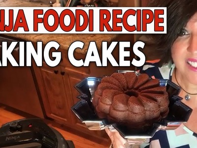 DIY Dollar Tree Cake Tier & Baking Cakes In The Ninja Foodi