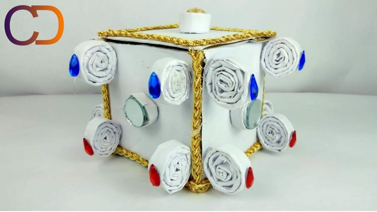 DIY Easy & Unique Jewellery Box Idea I Best way to use Waste Material