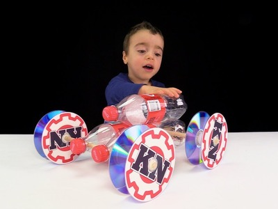 DIY : How to Make a Toy Car with DC Motor - Amazing Idea