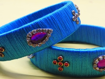 DIY Latest. How To Make Fancy Bangles Designs