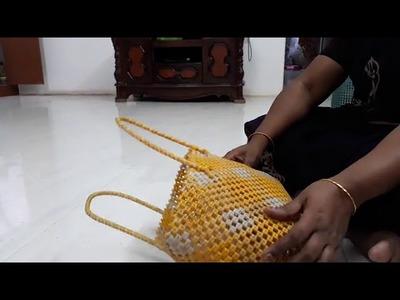 DIY _Wire Work - Cross bag basic measurement method