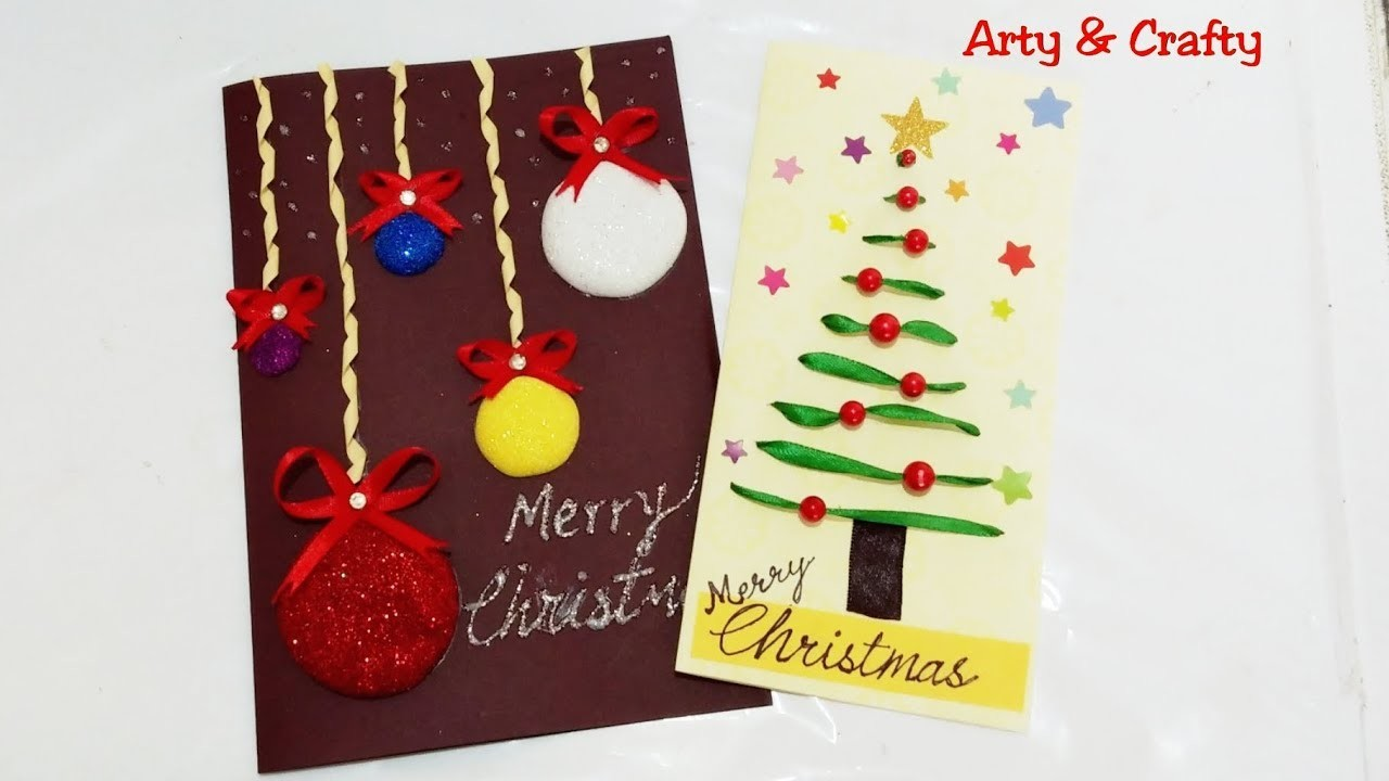 Easy Christmas Cards For Kids.Easy Christmas Cards For Kids Handmade Christmas Greeting