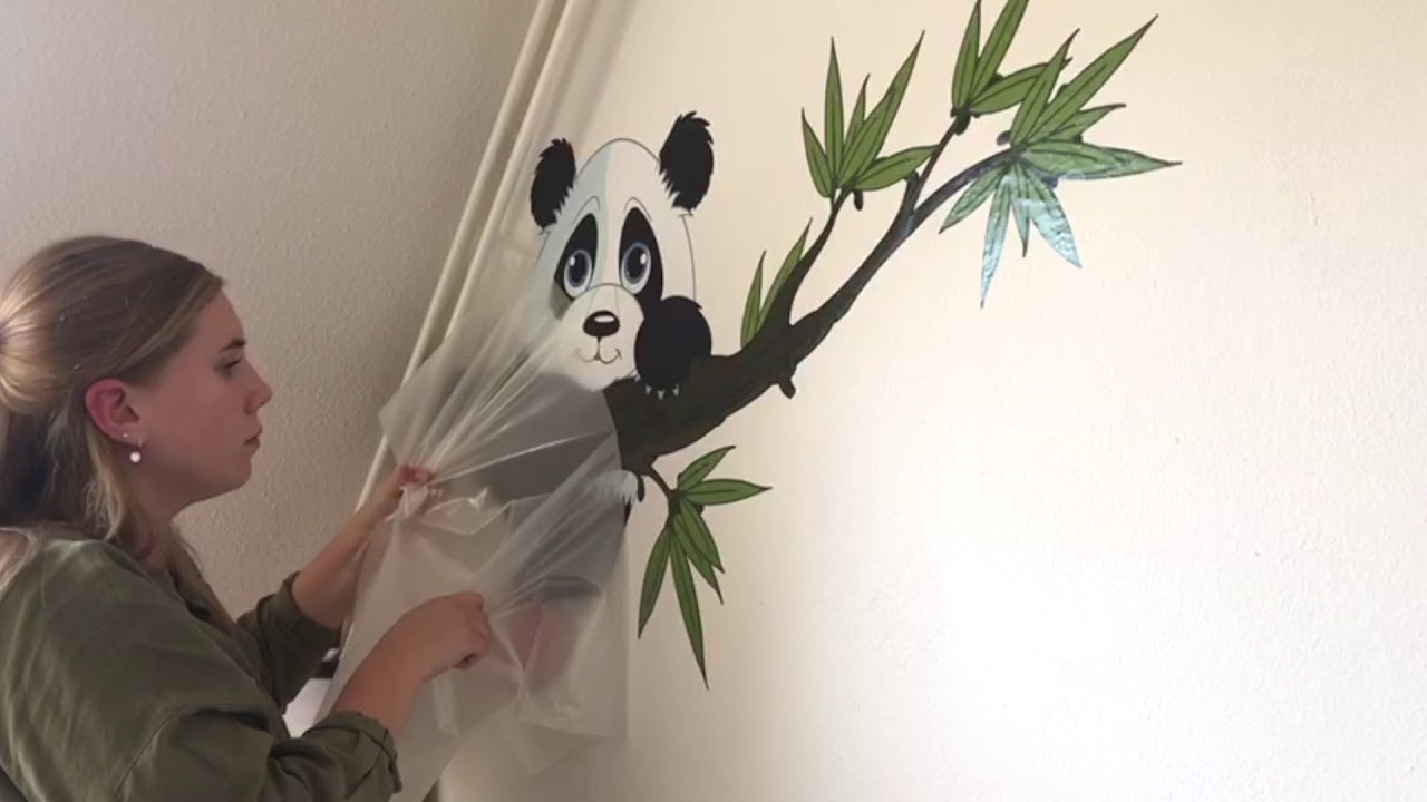 How to apply wall stickers tutorial- kid's room makeover - wall-art.com