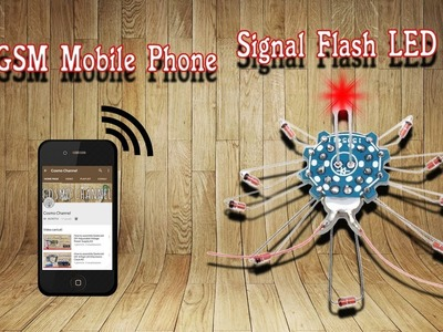How to assemble a GSM Mobile Phone Signal Flash LED Kit DIY