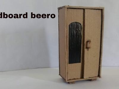 How to make a beautiful Diy beero (using cardboard)#06