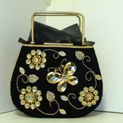 Jeweled Butterfly Handbag