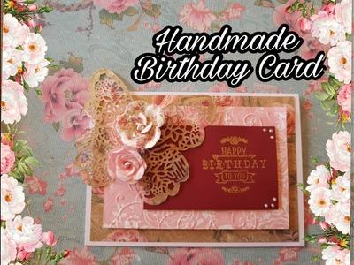 Let's Make a Birthday Card ! Easy Tutorial