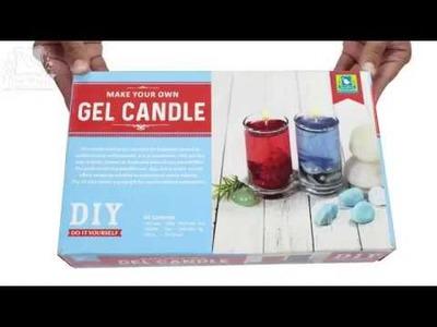 Making Easy Gel Candle With Little Birdie DIY Kit