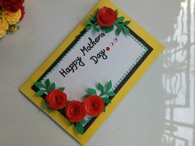 Mother's Day Pop up card making.DIY Mother's Day Card.