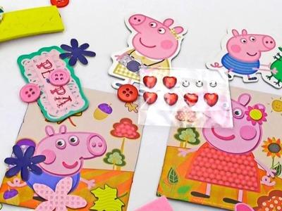 Peppa ! Peppa Pig HandMade ! Photo Frame Peppa and George !