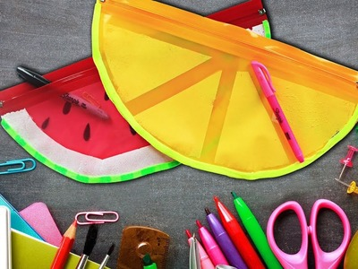 Smart Back To School Hacks You Should Know   Cool DIY School Supplies By Hooplakidz How To
