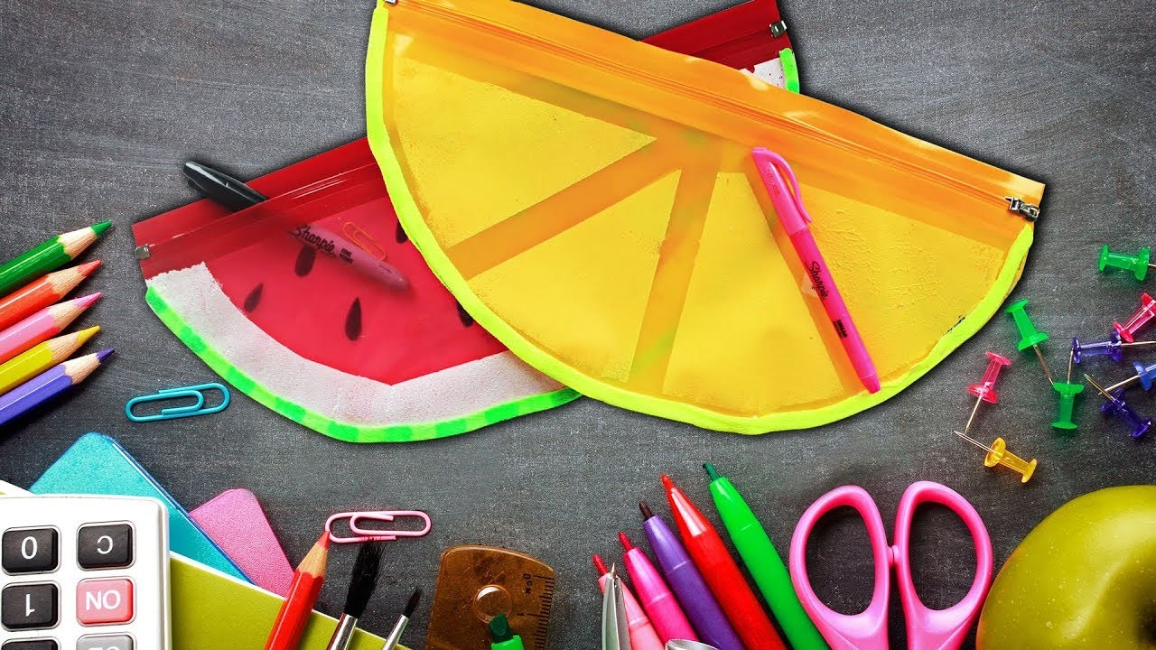 Smart Back To School Hacks You Should Know | Cool DIY School Supplies By Hooplakidz How To