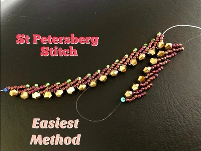 St Petersburg Stitch in my way. Easiest Tutorial Ever ????