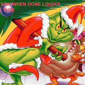 Unique Hand Made pdf Sewing Dmc Crafts The Grinch Cross Stitch Pattern***LOOK***
