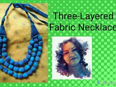 Three-Layered Necklace Making Tutorial    How to make three layered Necklace   