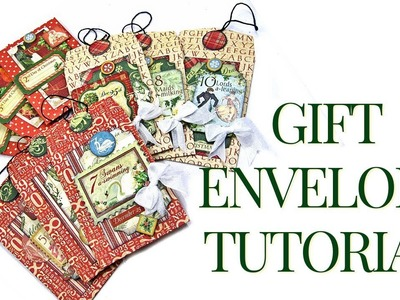 [Tutorial] Gift Tag Envelopes Club G45 Vol 11 Featuring Twelve Days of Christmas