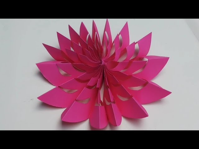 3D paper snowflakes,paper cutting flowers design,Diwali ...