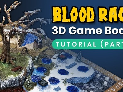 Blood Rage 3D game board tutorial (part 1.4)