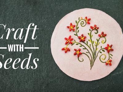 DIY Craft with seeds