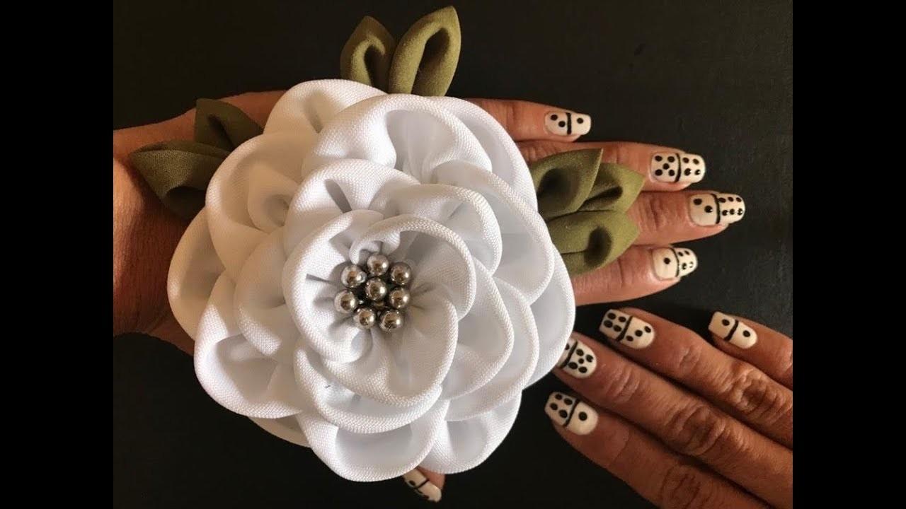 DIY Fabric Flower DIY