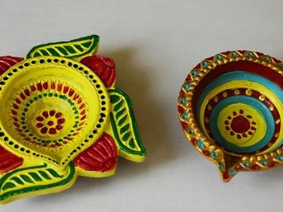 Diya decoration 2. DIY. Diwali special